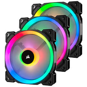 Corsair LL120 Dual Light Loop RGB PWM 120mm LED 3-pack