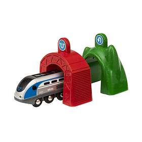 BRIO World Smart Tech Lok med Action-tunnlar 33834