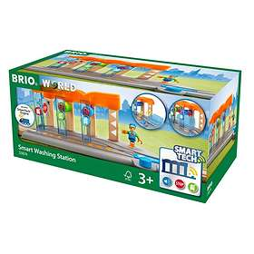BRIO World Smart Tech Tågtvättstation 33874