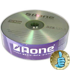 Aone CD-R 700MB 52x 25-pack Bulk