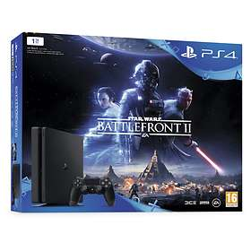 Sony PlayStation 4 (PS4) Slim 1To (+ Star Wars: Battlefront II)