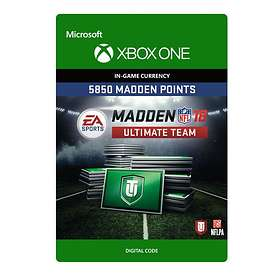 Madden NFL 18 - 5850 Madden Points (Xbox One)
