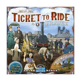 Ticket to Ride: France & Old West (exp.)