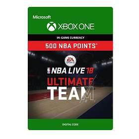 NBA Live 18 Ultimate Team - 500 Points (Xbox One)