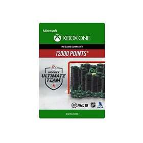 NHL 2018 Ultimate Team - 12000 Points (Xbox One)