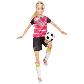 Barbie Made to Move Soccer Player Doll DVF69