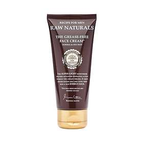 Recipe for Men Raw Naturals The Grease-Free Face Cream 100ml