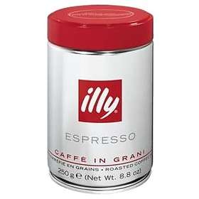 Illy Espresso Normalrost 0.25kg (tin, Whole Beans)