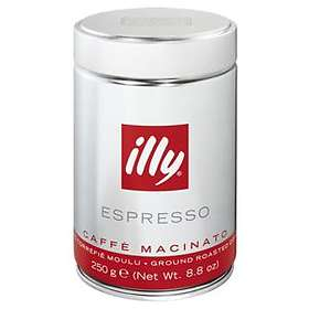 Illy Espresso 0.25kg (tin, Ground Coffee)