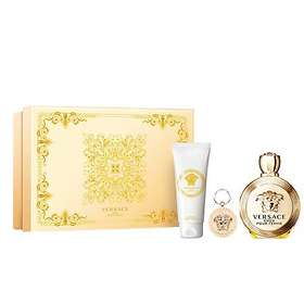 Versace Eros edp 100ml + BL 100ml + Nyckelring for Women