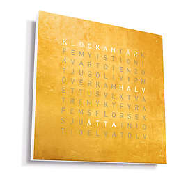 Qlocktwo Large Creator's Edition Gold