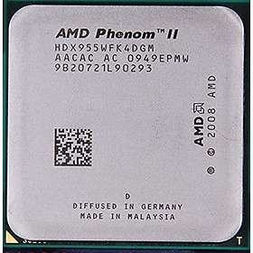 AMD Phenom II X4 955 Black Edition 3.2GHz Socket AM3 Tray