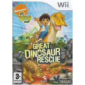 Go, Diego, Go! Great Dinosaur Rescue (Wii)