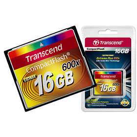 Transcend Compact Flash 600x 16GB