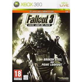 Fallout 3 - Game Add-On Pack 2: Broken Steel and Point Lookout (Xbox 360)