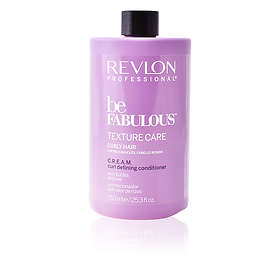 Revlon Be Fabulous Curly Hair Cream Curl Defining Conditioner 750ml