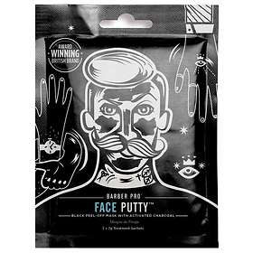 Barber Pro Face Putty Peel-Off Mask 3st
