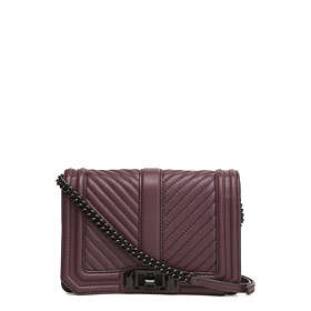 Rebecca Minkoff CHEVRON QUILTED SMALL LOVE Skulderveske