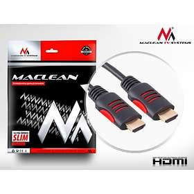 Maclean Ferrite HDMI - HDMI High Speed with Ethernet 1,8m