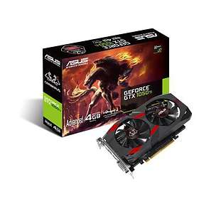 Asus GeForce GTX 1050 Ti Cerberus Advanced HDMI DP 4GB