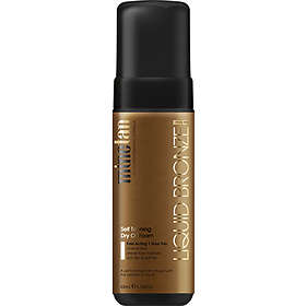 MineTan Liquid Bronze Self Tanning Dry Oil Foam
