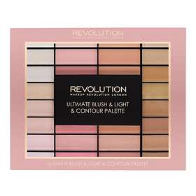 Makeup Revolution Ultimate Blush & Light Contour Palette