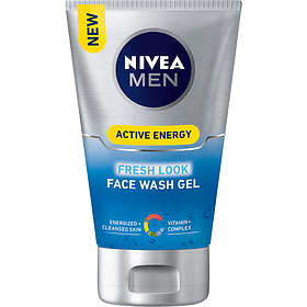 Nivea Men Active Energy Fresh Look Face Wash Gel 100ml