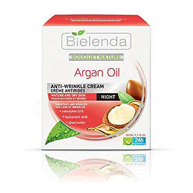 Bielenda Bouquet Nature Argan Oil Anti-Wrinkle Night Cream 50ml