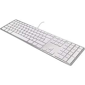 Matias Wired Aluminum Keyboard for Mac with 2 Port Hub (EN)