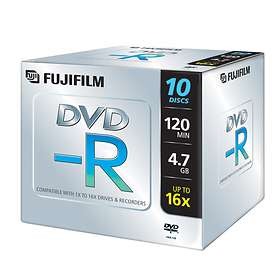 Fujifilm DVD-R 4.7GB 16x 10-pack Jewelcase