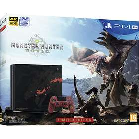 Sony PlayStation 4 (PS4) Pro 1TB (ml. Monster Hunter World) - Limited Edition
