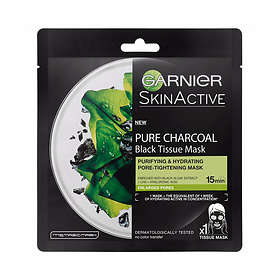 Garnier SkinActive Pure Charcoal Purifying & Hydrating Black Tissue Mask 1st