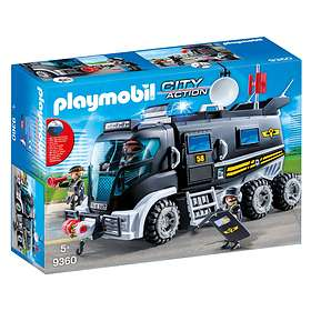 Playmobil City Action 9360 Insatsfordon med ljus och ljud