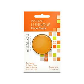 Andalou Naturals Brightening Instant Luminous Face Mask 8g