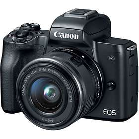 Canon EOS M50 + 15-45/3,5-6,3 IS STM