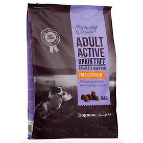 Harmony by Dogman Adult Grain Free Active 10kg