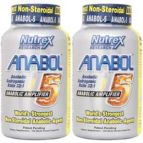 Nutrex Research Anabol5 120 Capsules