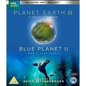 Planet Earth II + Blue Planet II - Boxset (UHD+BD)