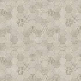 Tarkett Trend 240 Henna Light Grey 200x200cm 16st/förp