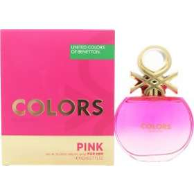 United Colors of Benetton Colors For Her Pink edt 80ml
