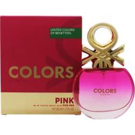 United Colors of Benetton Colors For Her Pink edt 50ml