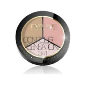 Eveline Cosmetics Contour Sensation 3in1 Bronzer Highlighter & Blusher