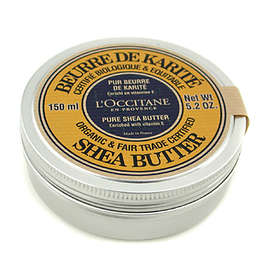 L'Occitane 100% Pure Organic Shea Butter 150ml