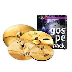 Zildjian A Custom Gospel Music Pack (14/17/18/21)