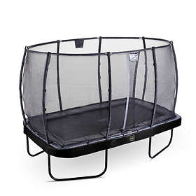 Exit Elegant Premium Trampoline Deluxe with Safety Net 214x366cm