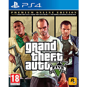 Grand Theft Auto V - Premium Online Edition (PS4)