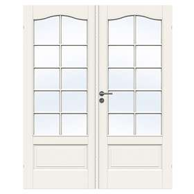 Swedoor Jeld-Wen Parinnerdörr Craft SP10B Glas 13x21