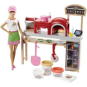 Barbie Pizza Chef Doll and Playset FHR09