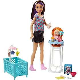 Barbie Skipper Babysitters Inc. Doll and Playset FHY98