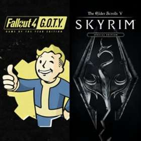 The Elder Scrolls V: Skyrim - Special Edt + Fallout 4 - Game of the Year (PS4)